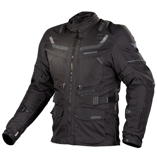 NORDCODE ADVENTURE EVO 4 SEASON JACKET BLACK JACKET WP 4-SEASON