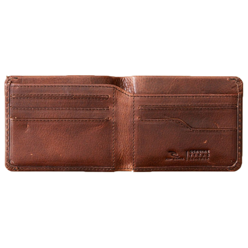 RIPCURL TEXAS RFID ALL DAY BROWN WALLET
