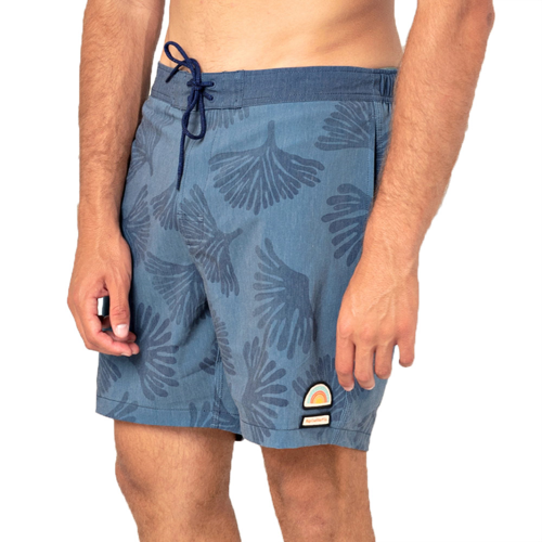 RIPCURL SWC SEMI-ELASTICATED 17in WASHED NAVY BOARDSHORT