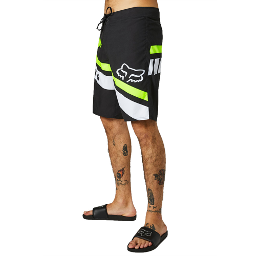 "FOX WRAPPED 21"" BLACK BOARDSHORT"