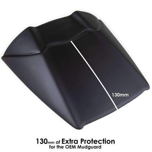 FENDER EXT. REAR PYRAMID TRACER 900/GT 18- BLACK
