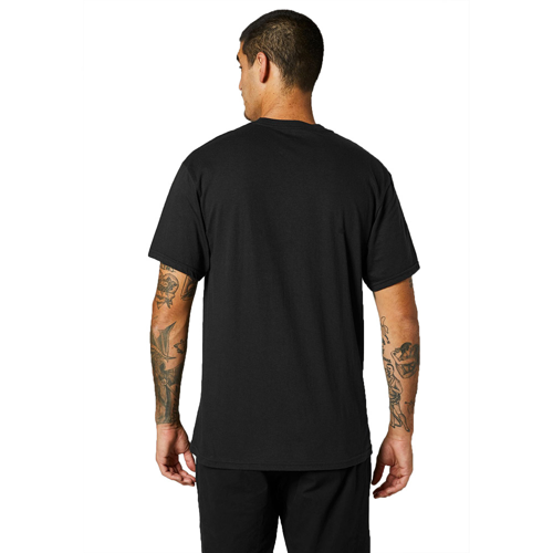 FOX DECRYPTED SS BLACK TEE