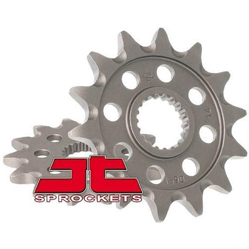 JT 18E1590.14SC FRONT SPROCKET SELF CLEANING FOR YAMAHA YZ/YZF/WR-F/X/R