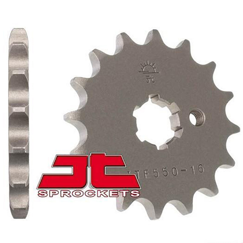 JT E550.I4 FRONT SPROCKET FOR YAMAHA CRYPTON-X