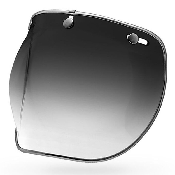 BELL 3-SNAP BUBBLE DLX FUME DEGRADE VISOR FOR CUSTOM 500