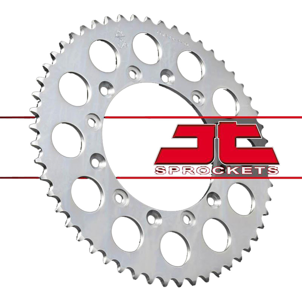 JT JTR245/2.50 SILVER REAR SPROCKET FOR YAMAHA WR-250X/R