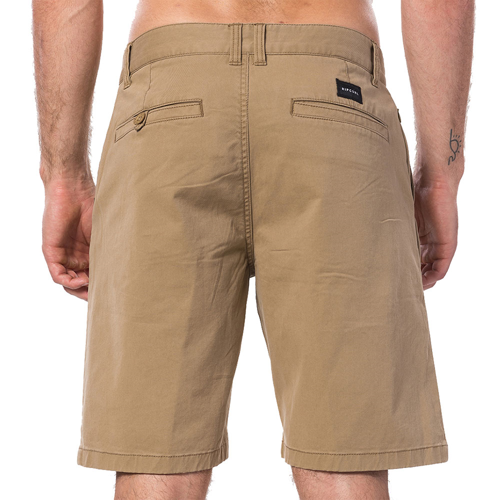 RIPCURL TRAVELLERS WALKSHORT DARK KHAKI