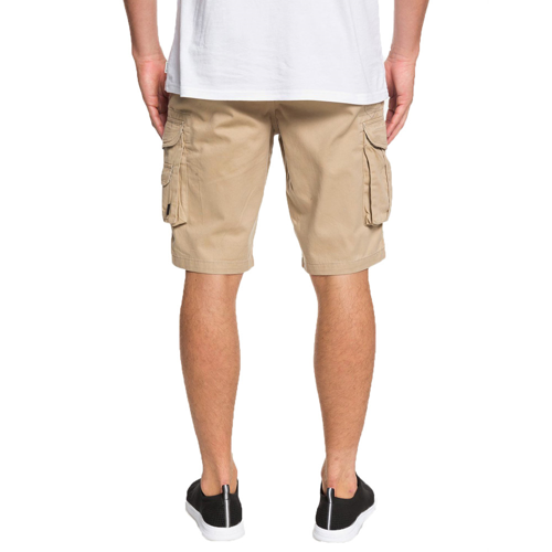 QUIKSILVER CRUCIAL BATTLE 21in PLAGE CARGO SHORTS