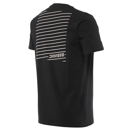 DAINESE HATCH T-SHIRT BLACK/WHITE TEE