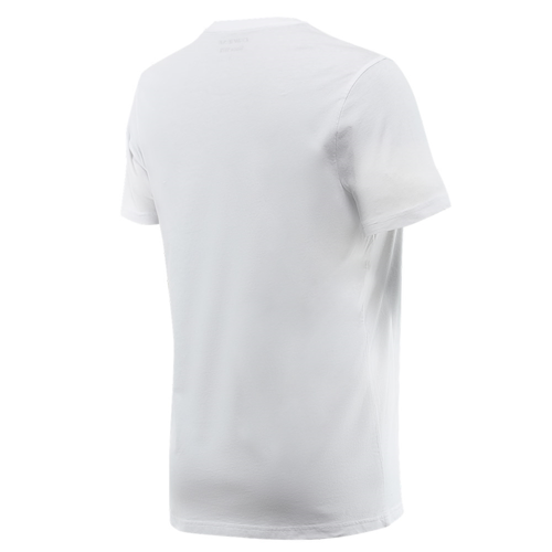 DAINESE STRIPES T-SHIRT WHITE/RED TEE