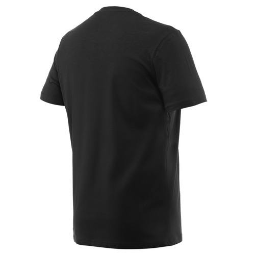 DAINESE STRIPES T-SHIRT BLACK/RED TEE