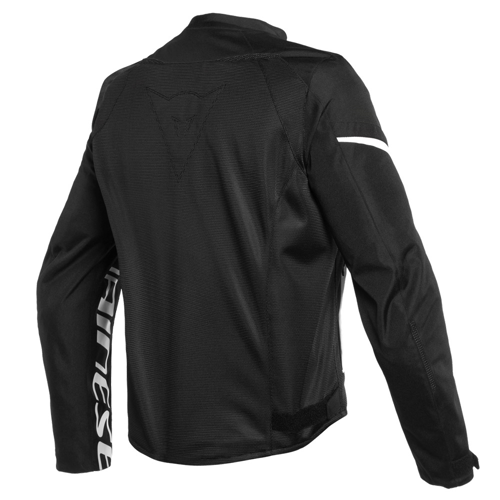 DAINESE BORA AIR TEX BLACK/WHITE JACKET SUMMER