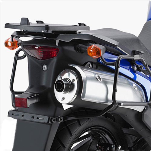 GIVI E528M BLACK TOPCASE BASE FOR SUZUKI V-STROM DL-650 (ΧΩΡΙΣ ΠΙΑΣΤΡΑ)
