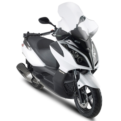 GIVI D294ST BLACK WINDSCREEN FOR KYMCO DOWNTOWN 125/300 2009/X-TOWN 125/300 2016-2017