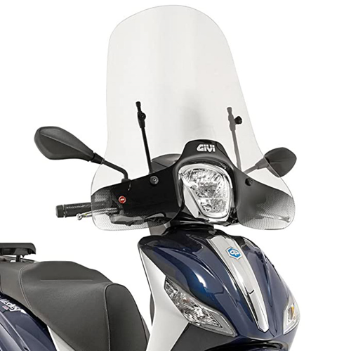 GIVI 5612A CLEAR WINDSCREEN FOR PIAGGIO MEDLEY 125/150 2016-2019