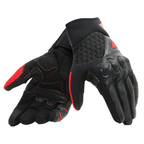 DAINESE X-MOTO GLOVES BLACK/FLUO-RED