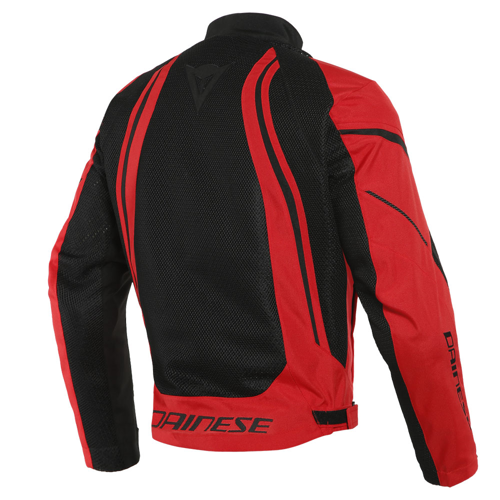 DAINESE AIR CRONO 2 TEX JACKET BLACK/LAVA-RED/LAVA-RED JACKET SUMMER
