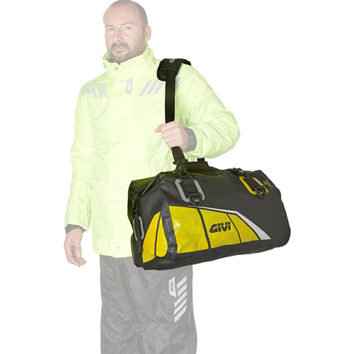 GIVI EA115BY BLACK/FLUO-YELLOW 40L TAIL BAG