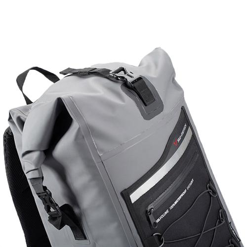 SW-MOTECH DRY BAG 300 GREY/BLACK 30L WATERPROOF BACKPACK