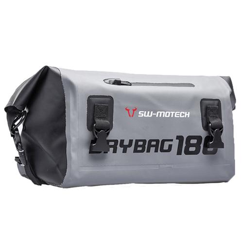 SW-MOTECH DRY BAG GREY/BLACK 18L TAIL BAG
