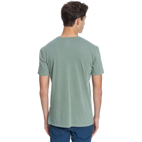 QUIKSILVER INTO THE WIDE BLUE SPRUCE TEE