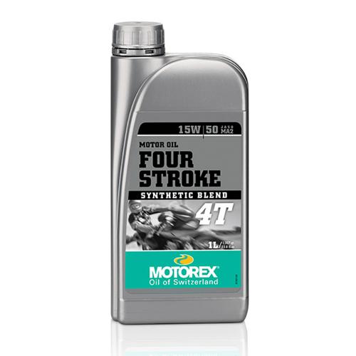 MOTOREX 4T FOUR-STROKE 15W/50 SEMI SYNTHETIC 1L ENGINE OIL