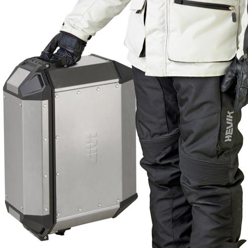 GIVI TREKKER 36 ALASKA (2pc) ALUMINIUM 36L SIDE HARD BAGS
