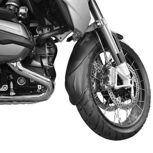 PYRAMID 54240 BLACK FENDER EXT. FRONT LONG FOR BMW R1200GS