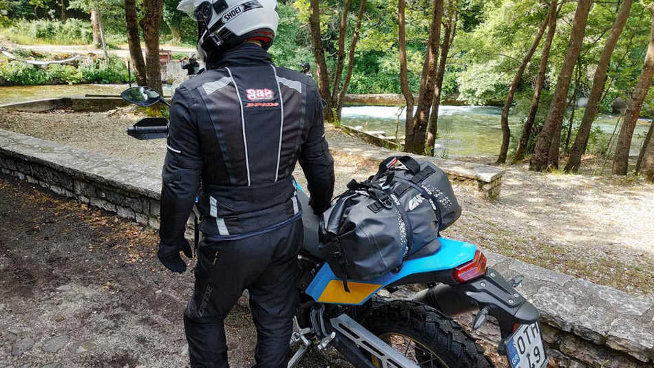 Necessary equipment for motorcycle travels