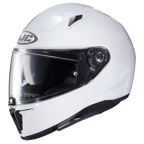 HJC I-70 PEARL WHITE HELMET FULL FACE