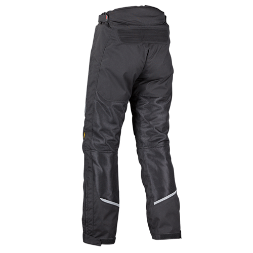 NORDCODE FIGHT AIR OVERSIZED BLACK PANTS SUMMER