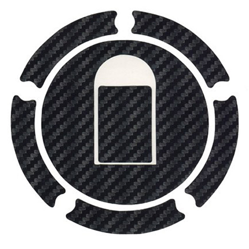 MOTO DISCOVERY CARBON TANK CAP STICKER FOR KAWASAKI