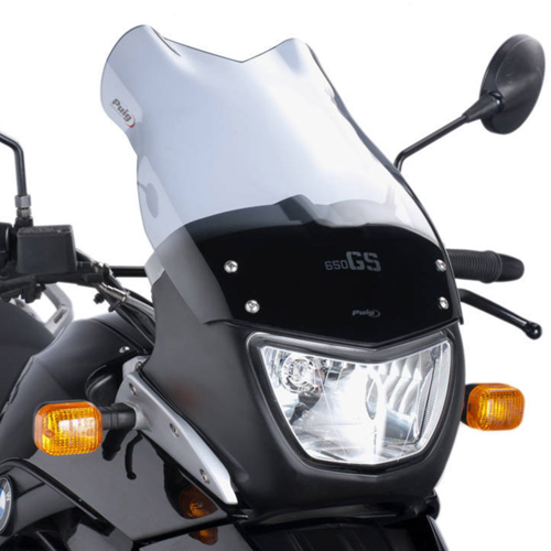 PUIG TOURING LIGHT FUME WINDSCREEN FOR BMW F650 GS 04