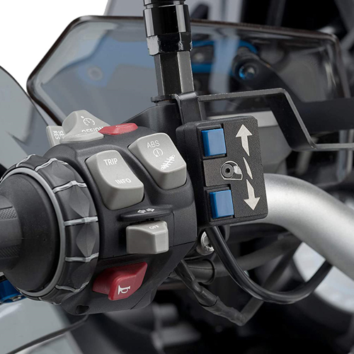 PUIG 9718N BLACK WINDSCREEN KIT ELECTRIC FOR BMW R1250GS 1G13 (K50) (18-19)